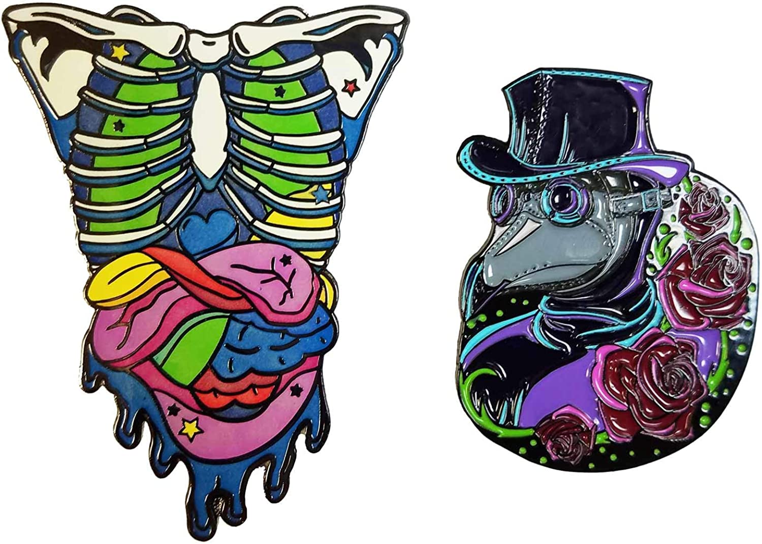 Candy Gore Rib Cage And Gummy Guts Neon Glow In The Dark 2 Enamel Pin And Plague Doctor 1 5 Enamel Pin Set Amazon Ca Jewelry Choose from over a million free vectors, clipart graphics, vector art images, design templates, and illustrations created by artists worldwide! candy gore rib cage and gummy guts
