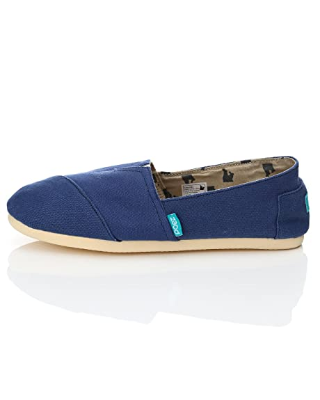 Paez - Zapatillas de Estar por casa para Mujer Azul Azul: Amazon.es: Zapatos y complementos