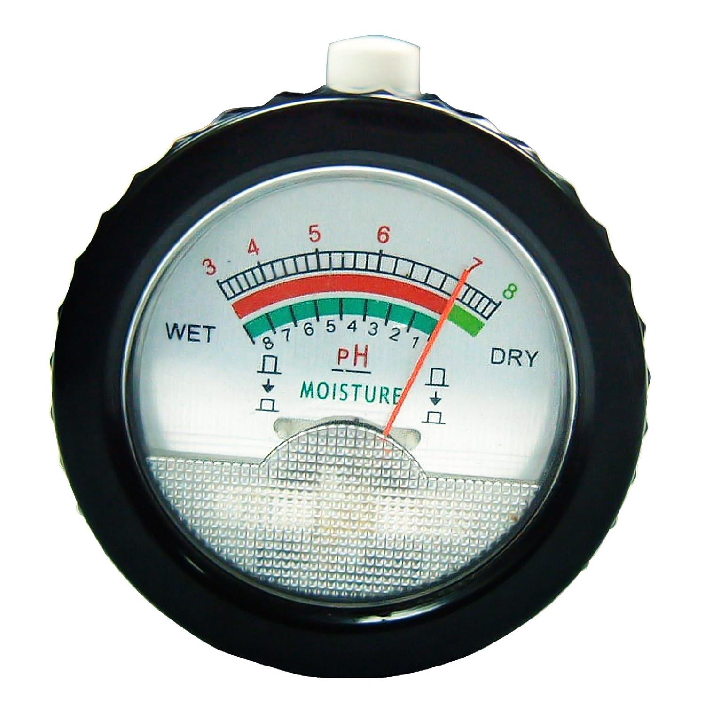 Gain Express Medidor de pH y humedad del suelo con sonda de electrodos de 295 mm de largo, herramientas de kit de probador de suelo a prueba de agua, ...