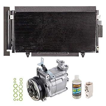 Nueva Original AC Compresor & embrague + a/c Kit de reparación para Subaru Impreza