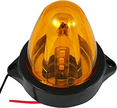 RECOVERY STROBE AMBER LED LIGHT ORANGE BREAKDOWN FLASHING BEACON CAR TRUCK VAN
