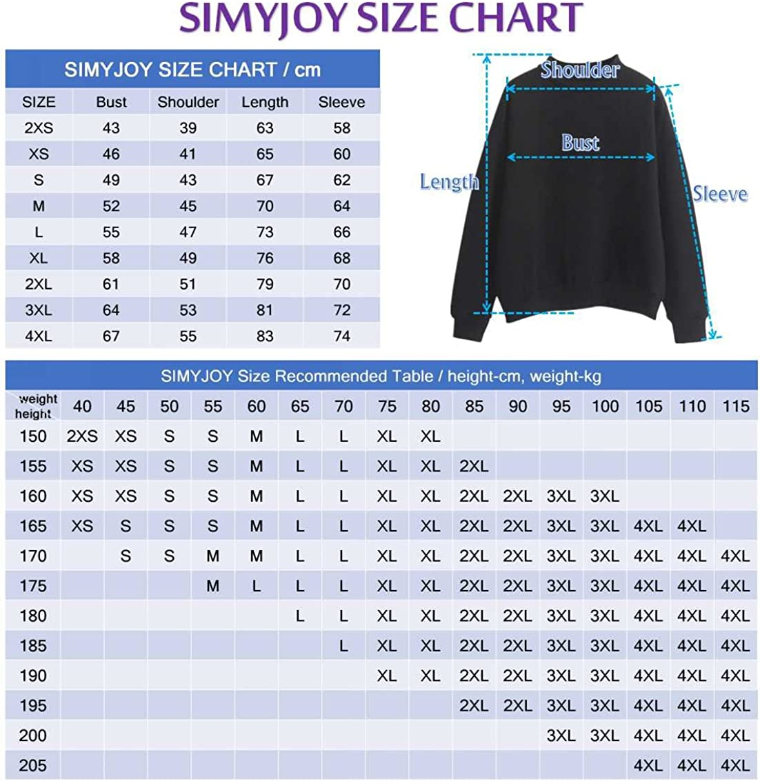 SIMYJOY Femme Korea Pop Fans Sweats Korea Pop Fake Love Pulls Fille Kpop Cool Harajuku Sweatshirt Loose Fitting Top