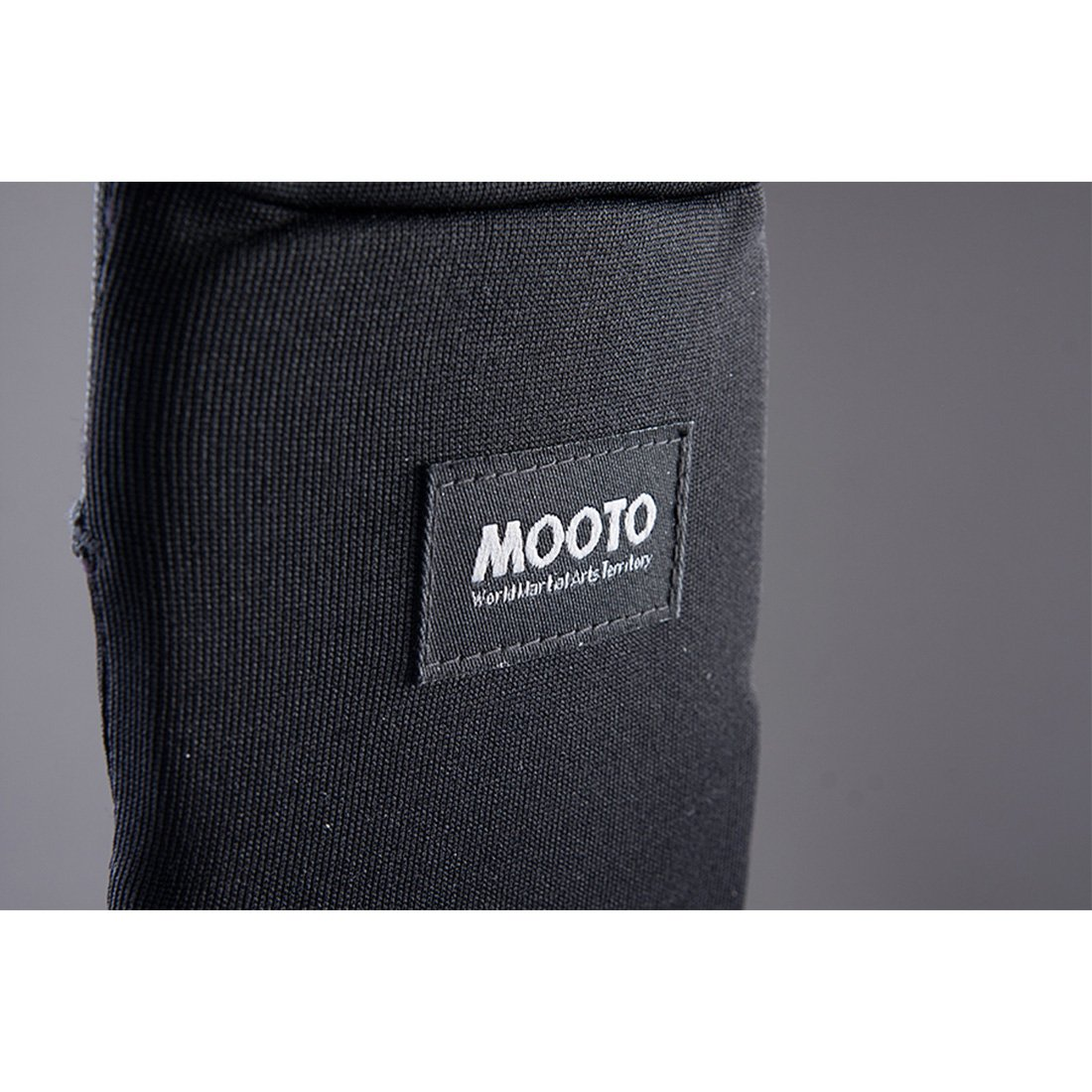 Mooto Korea Taekwondo Instep Cotton Guard Protector Black A Pair MMA Martial Arts Kickboxing Kareate Hapkido Jujitsu Kicking