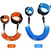 Anti Lost Wrist Link for Children (Blue 2.5m Orange 1.5m)