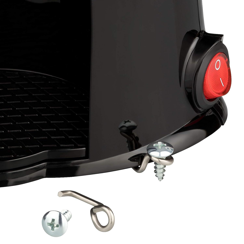 Machine /à caf/é /à 1 Tasse 170 W Filtre Permanent Dunlop id/éal pour la cafeti/ère de Voyage Caravane Camion Connexion sur Allume-Cigare pour Voiture avec Interrupteur Marche//arr/êt. etc