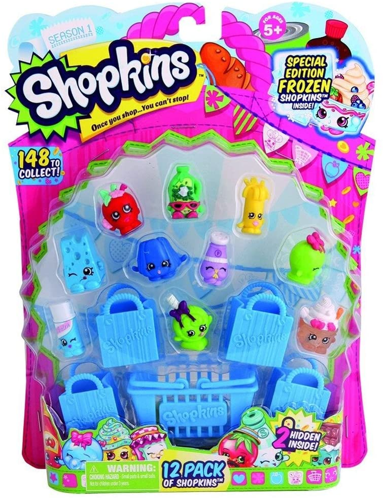 Shopkins Season 1 (12-Pack) (Styles Will Vary) (Discontinued by manufacturer)