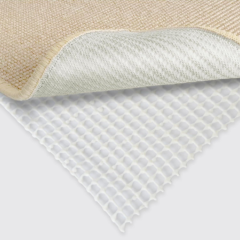 Casa PuraTeppich Rutsch Stopp  Teppichunterlage rutschfest   Anti-Rutsch Matte für Teppiche, Läufer uvm.   einfach zuschneidbar   REACH zertifizierter Gleitschutz (80 x 3000 cm)