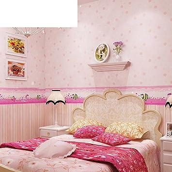 Jungen Und Madchen Tapeten Kinderzimmer Grune Tapete Wand Vlies Tapeten Schlafzimmer Tapeten Warm Wand B Amazon De Baumarkt