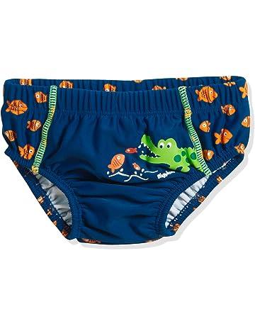 c99bea1bd Playshoes UV-Schutz Windelhose Krokodil pañal de natación para Bebés