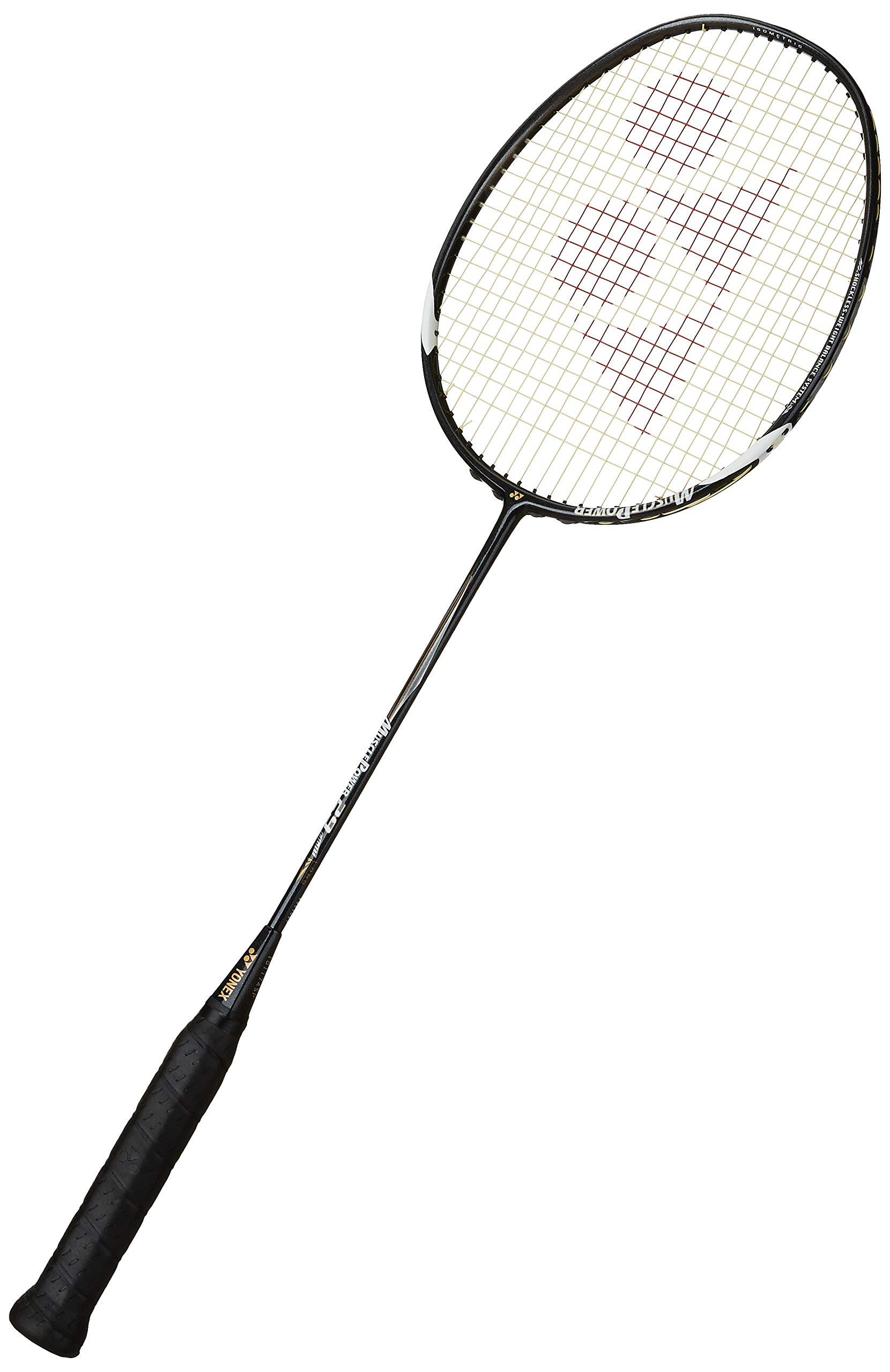 Yonex Muscle Power 29 Lite Badminton Racquet, 3U-G4 (Black/White)