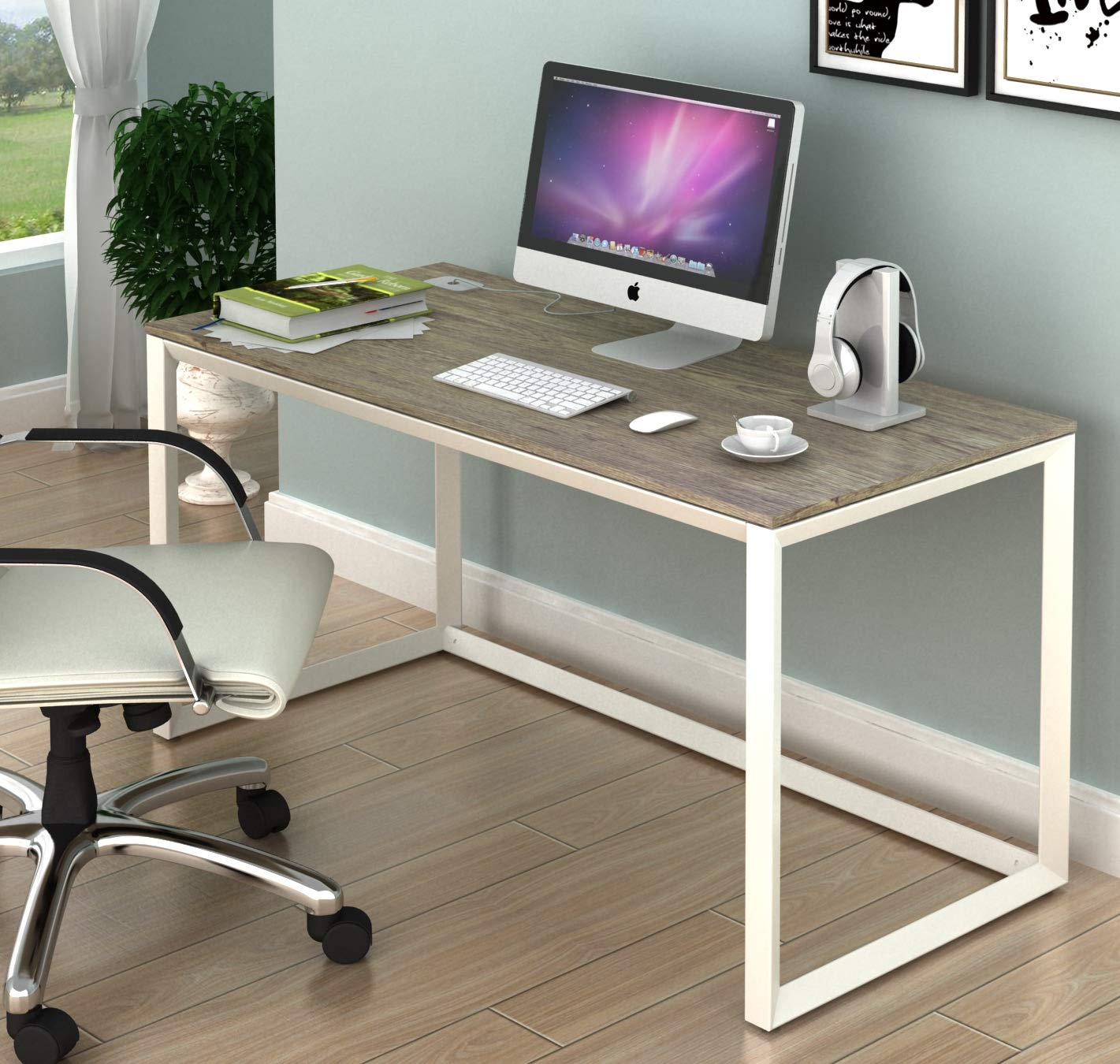 SHW Triangle-Leg Home Office Computer Desk by SHW