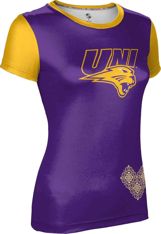 ProSphere University of Northern Iowa Girls Performance T-Shirt Foxy