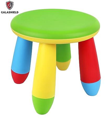 Galashield Plastic Kids Chair Stool 10u0026quot; ...