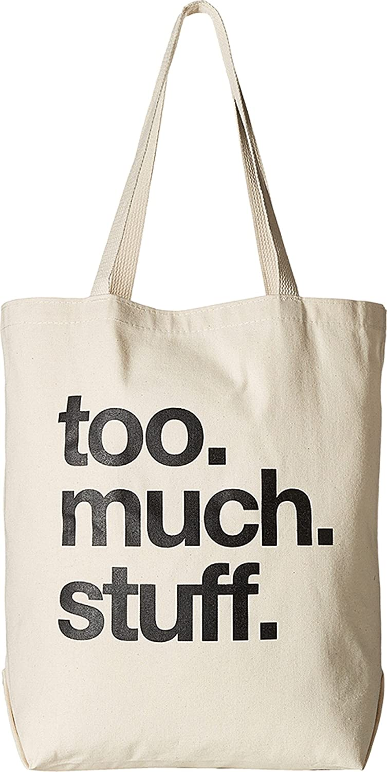 Dogeared Women's Too.Much.Stuff Tote