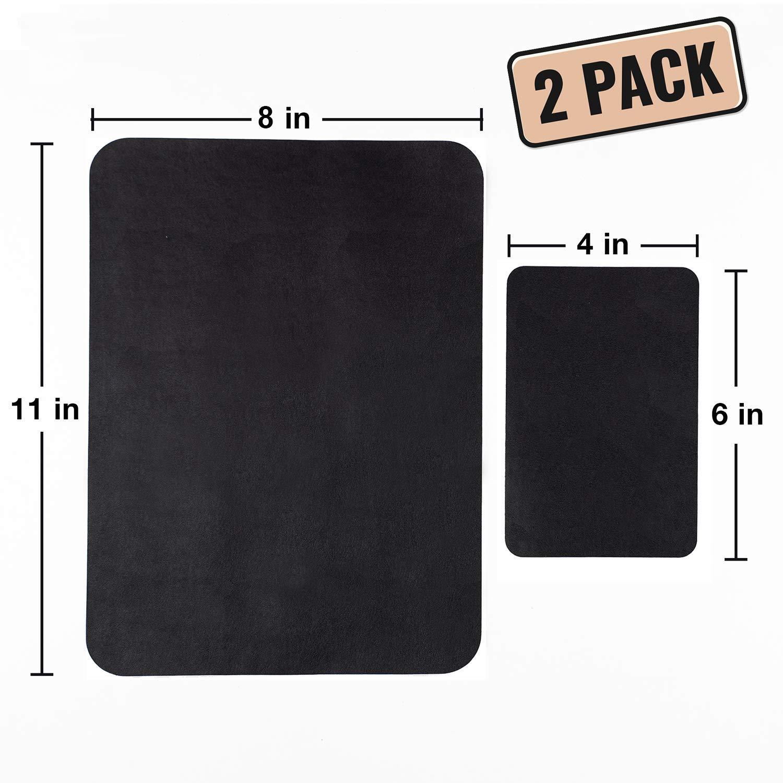 Amazon.com: Parches de cuero negro para sofá y kit de ...
