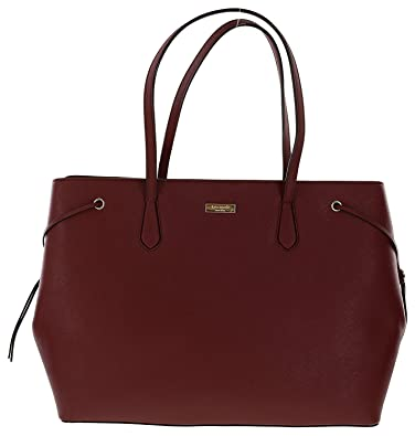 39177681e35d Amazon.com  Kate Spade New York Laurel Way Ari Saffiano Leather Satchel  Handbag Purse (Train Car Red)  Shoes