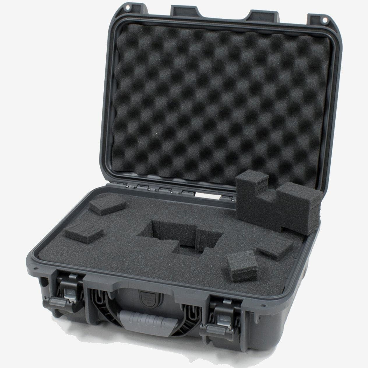Nanuk 920 Waterproof Hard Case with Foam Insert - Graphite