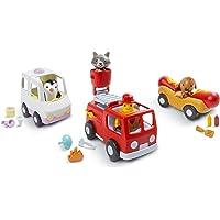 Sago Mini – Vehicles-Road Trip Collection, Multicolor