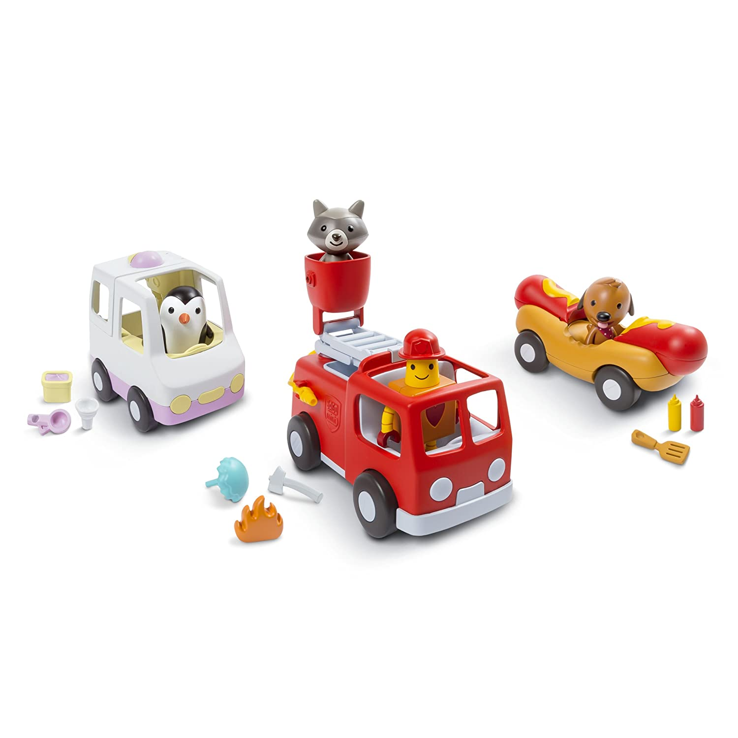 Sago Mini – Vehicles-Road Trip Collection, Multicolor 6038489