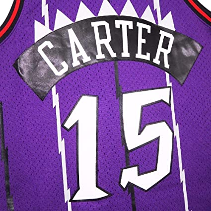 Vince Carter Toronto Raptors Mitchell and Ness Mens White Throwback Jesey