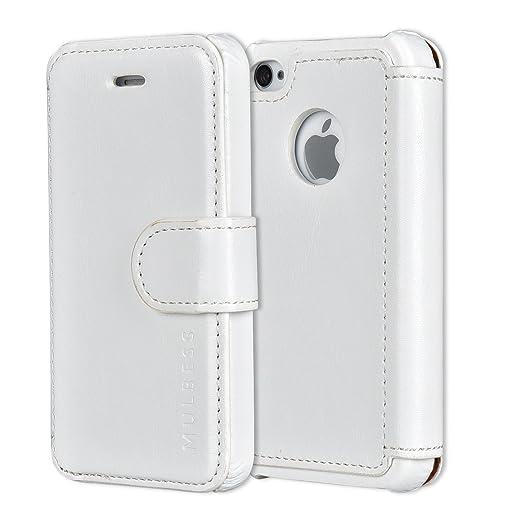 373 opinioni per Custodia iPhone 4s- Cover iPhone 4s- Mulbess Custodia In Pelle Con Flip Cover