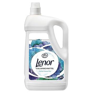 Lenor Vollwaschmittel Flüssig Weiße Wasserlilie, 4.2 L, 2er Pack (2 ...