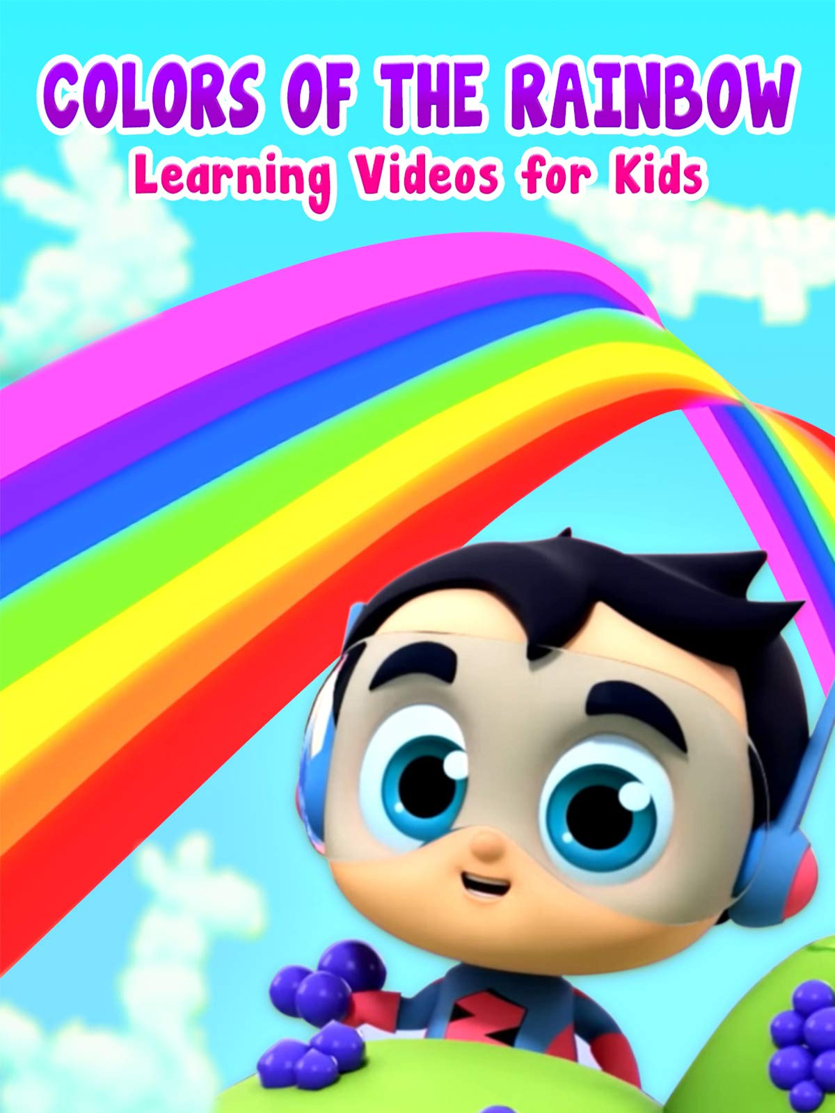 Colors of The Rainbow - Learning Videos for Kids on Amazon Prime Video UK