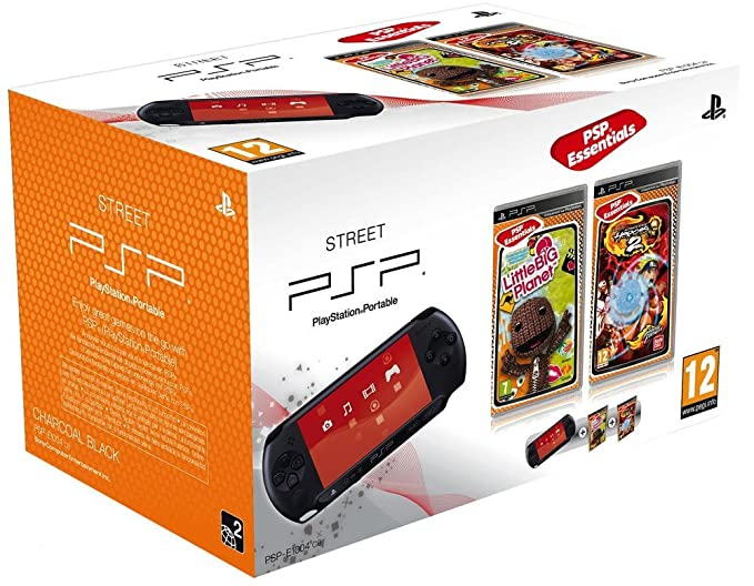 Console PSP Street (E1004 noire) + Little big planet ...