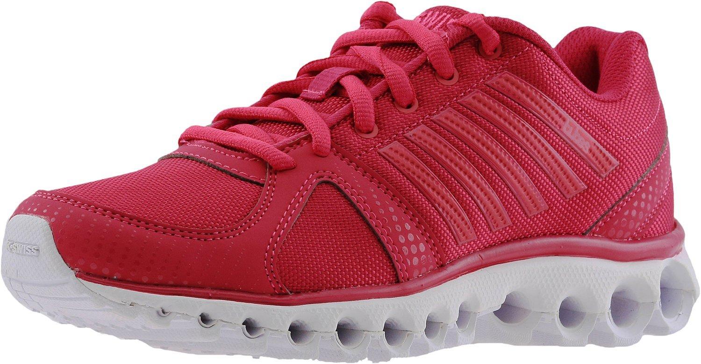K-Swiss Women's X-160 CMF Fashion Sneaker B01LWOUK1W 10 B(M) US|Bright Rose/White