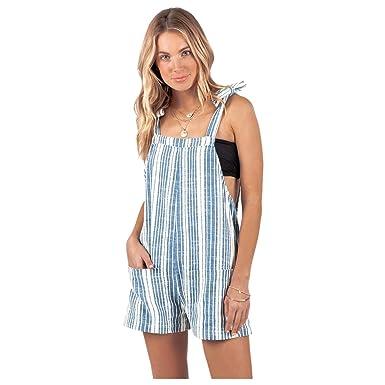 e76d9a4e0a1f Amazon.com  Rip Curl Women s Tiki Talk Romper  Clothing