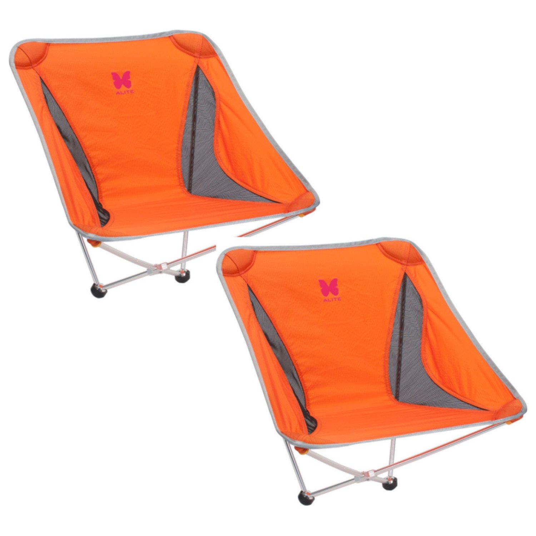 Alite Monarch Butterfly Chair - 2 Pack (Jupiter Orange)