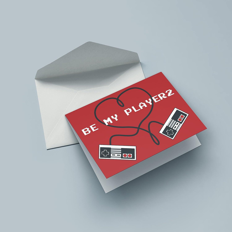 Corazón controlador - Nerd tarjeta para el San Valentín: Amazon.es ...