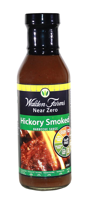 Walden Farms Hickory Smoked BBQ Sauce, 12 Ounce