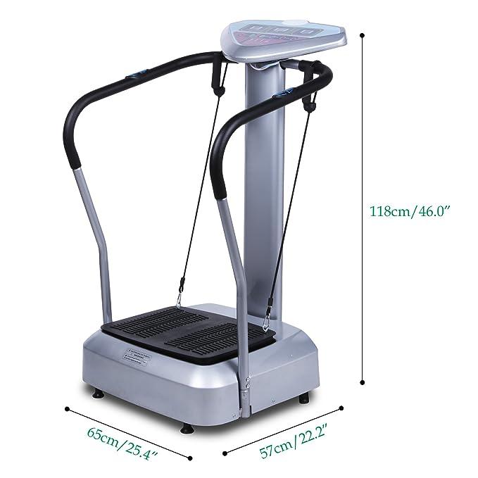 Plataforma vibratoria fitness Vibro Shaper vibración dispositivos ...