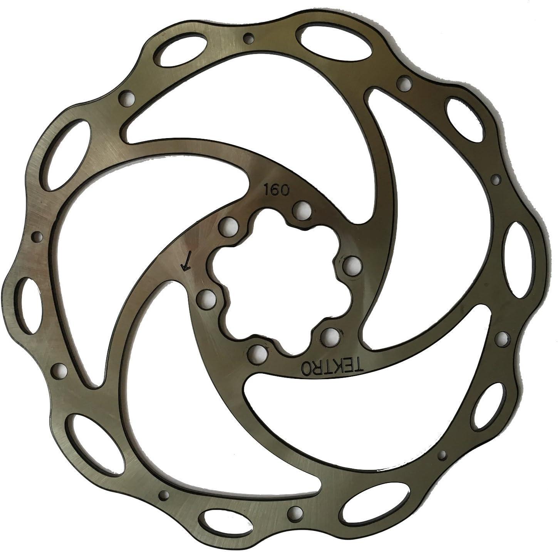 Tektro Lyra 160mm  6-Bolts bicycle Brake Rotor for Road MTB