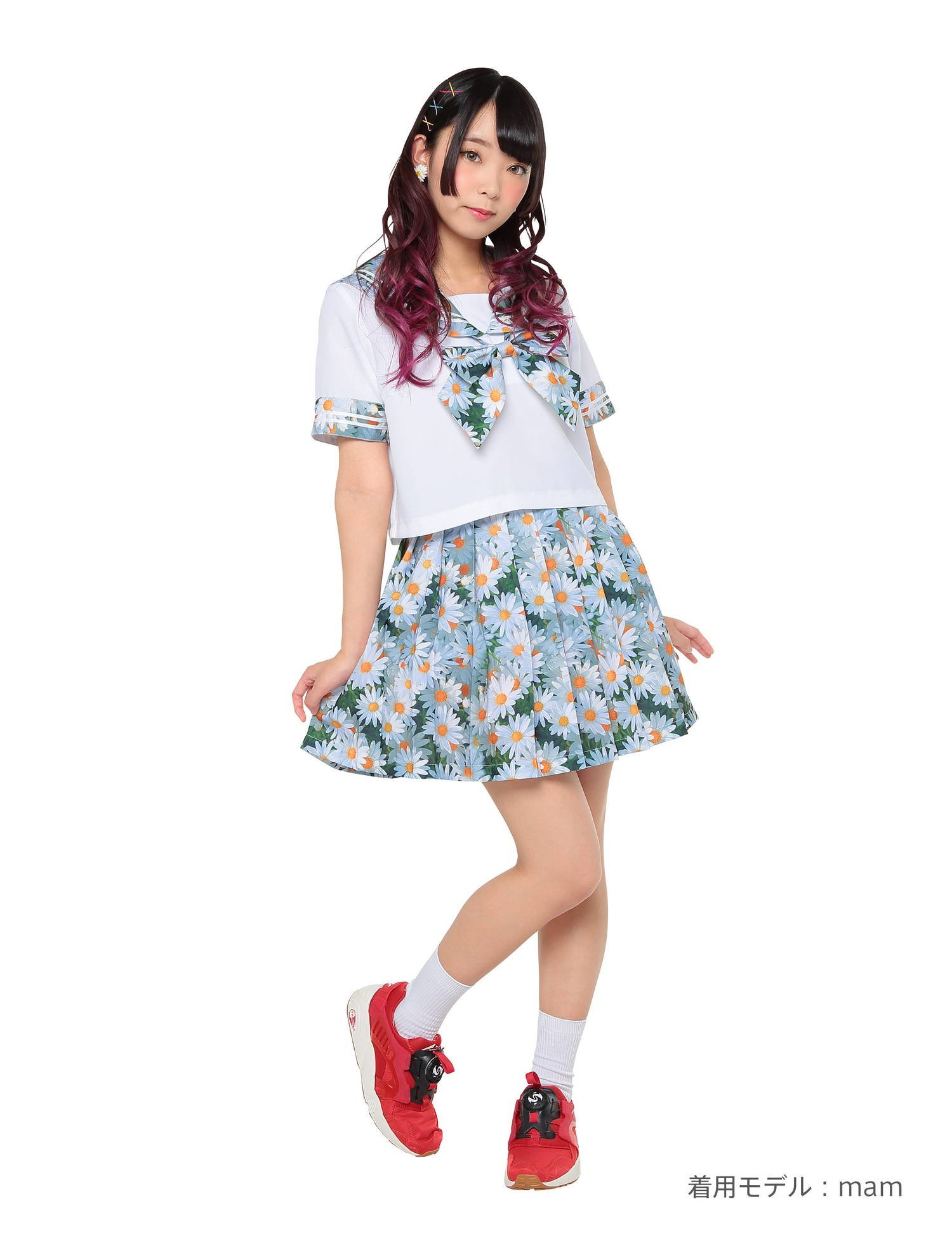 Neon graphics sailor outfit Dear marguerite costume ladies 155 cm-165 cm by Stone