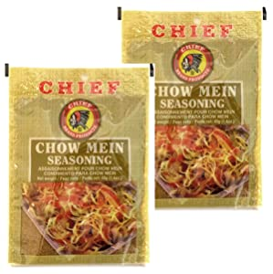 Chief Chow Mein Seasoning 40g (1.4oz) (Pack of 2)