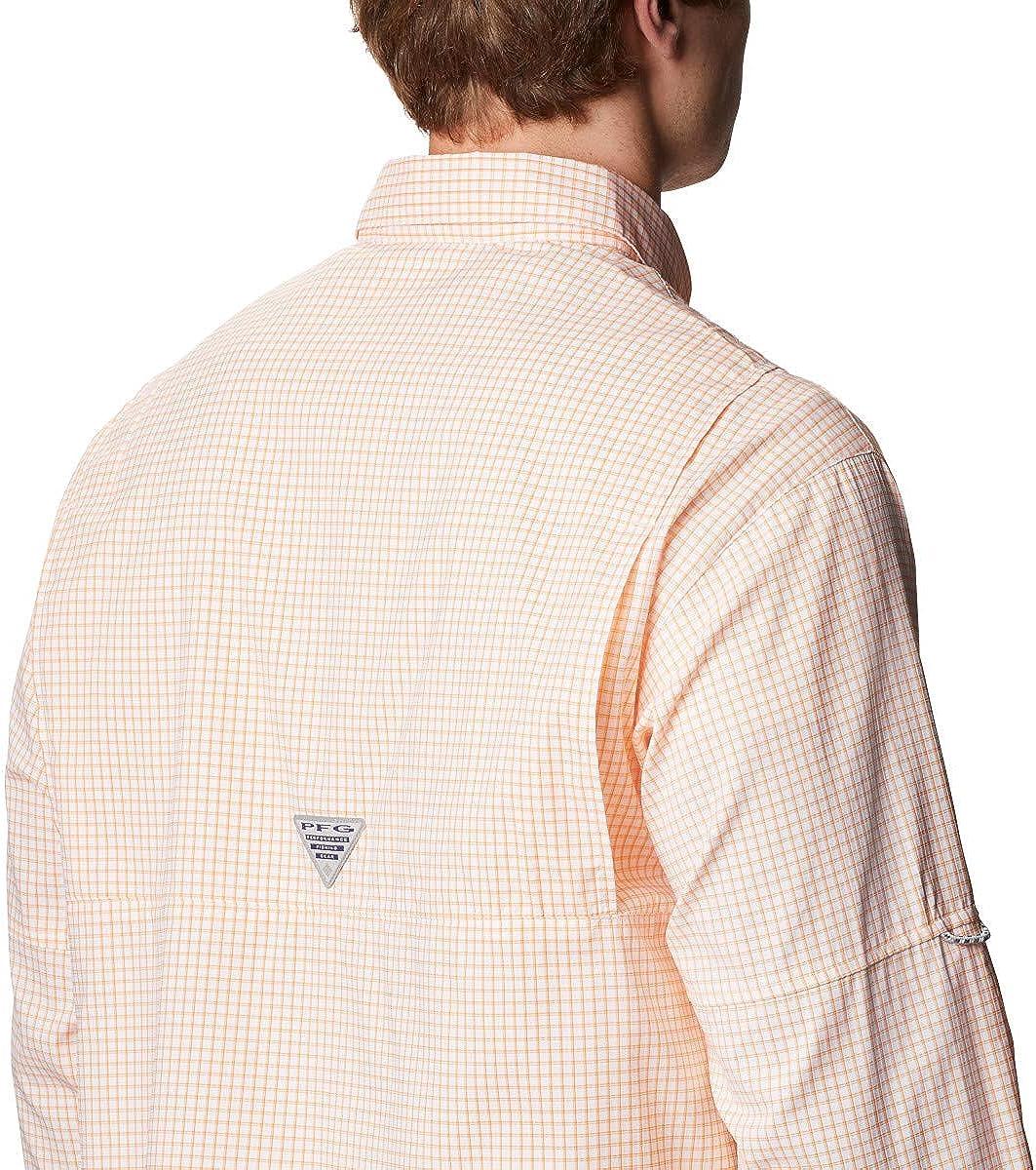 Columbia Mens Collegiate Super Tamiami Long Sleeve Shirt