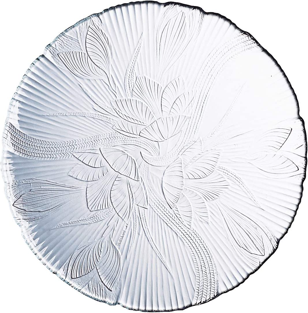 Charger & Service Plates Dinner Plate and Charger Elegant Floral ...