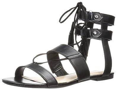08504b93700 Amazon.com  Nine West Women s Decima Patent Gladiator Sandal  Shoes