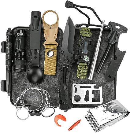Hunting emergency Survival Kit Fishing SOS EDC Gear Camping