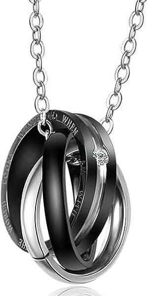 30d2eca6ec40 Blisfille Collar Serpiente Plata Colgante Corazon Hombre Collar Mujer Plata  de Ley 925 Collar Gato Cachorro Collares Mujer de Perlas Regalo de Boda  para ...