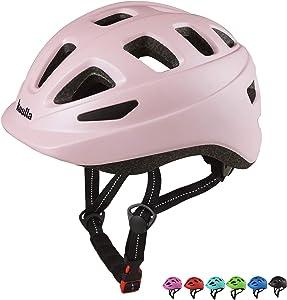 Kuulla Toddler Bike Helmet Sport Helmets for Kids 3-10 Adjustable Bicycle Helmets for Boys and Girls Cycling Skating Scooter