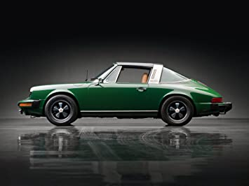 Porsche 911 (911) S 2.7 Targa US Version (1973) Car Art Poster