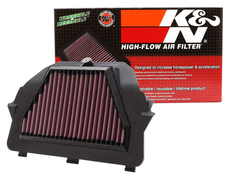 K&N Engine Air Filter: High Performance, Premium, Powersport Air Filter: Fits 2008-2019 YAMAHA (YZF R6, YZF R6S) YA-6008