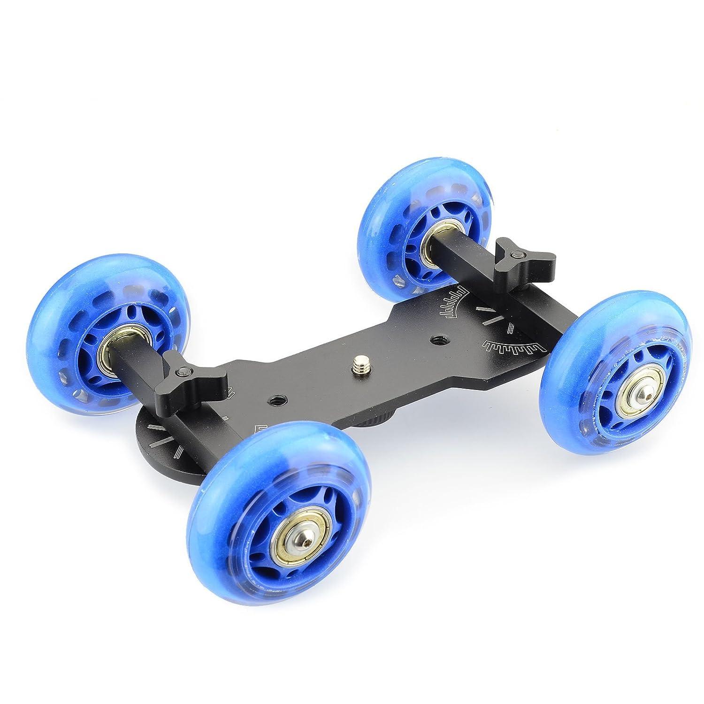 DSLRKIT - Soporte de mesa con ruedas para cámara réflex digital ...