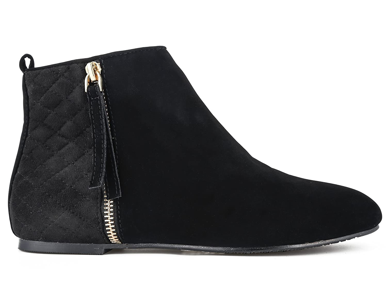 514fa7cc91d4c MaxMuxun Women Shoes Flats Classic Ankle Boots