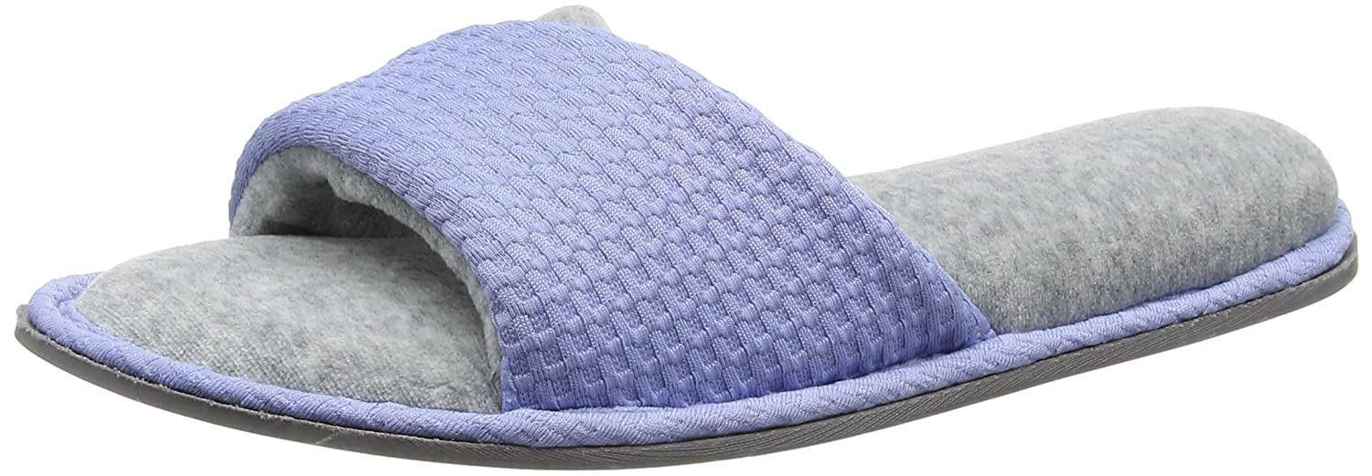 Dearfoams B075F94NJC Slide, Chaussons Mules Mules Femme Femme Blue (Iceberg) b93888c - therethere.space
