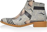 DOGO Penguin Attack - Zapatos Abotinados Mujer