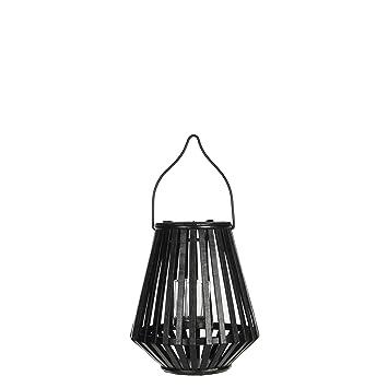 Mica Decorations 1003195 Emmy Lantern Black Amazon Co Uk Garden